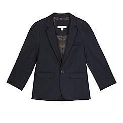RJR.John Rocha - Boy's navy check blazer jacket