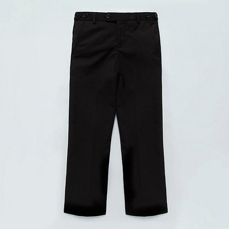 bluezoo - Boy+s black slim suit trousers