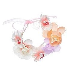 RJR.John Rocha - Girls' pink floral bracelet