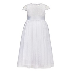 RJR.John Rocha - Girls' white lace bodice dress