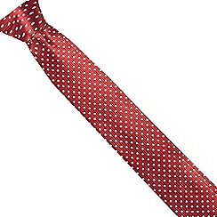 RJR.John Rocha - Boys' red spotted tie