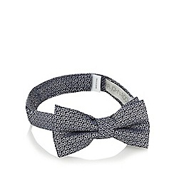 RJR.John Rocha - Boys' navy geometric embroidered bow tie