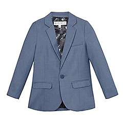 RJR.John Rocha - Boys' blue chambray blazer jacket