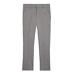 RJR.John Rocha - Boys' grey textured slim fit trousers
