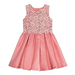 RJR.John Rocha - Girls' pink lace bodice dress