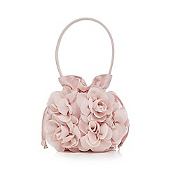 RJR.John Rocha - Girls' light pink rose bud bag