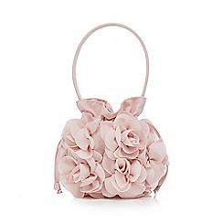 RJR.John Rocha - Girls' light pink rose bud bag