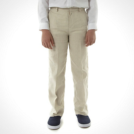 RJR.John Rocha - Boy+s natural linen trousers