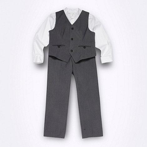 RJR.John Rocha - Designer  boy+s grey suit