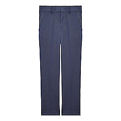 RJR.John Rocha - Boys' blue textured slim leg trousers