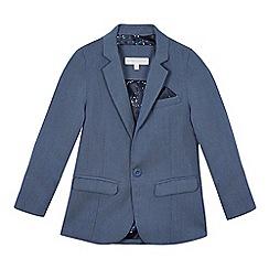 RJR.John Rocha - Boys' blue textured jacket