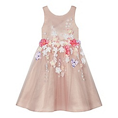 RJR.John Rocha - Girls' pink 3D floral dress