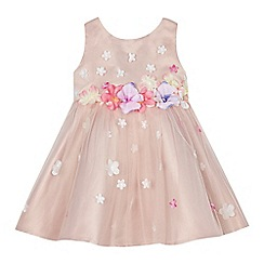 RJR.John Rocha - Baby girl's pink 3D floral dress
