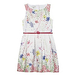 RJR.John Rocha - Girls' multi-coloured sleeveless floral dress