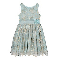 RJR.John Rocha - Girls' aqua embroidered dress