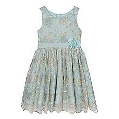 RJR.John Rocha - Girls' aqua embroidered dress