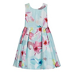 RJR.John Rocha - Girls' light blue floral dress
