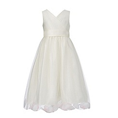 RJR.John Rocha - Girls' ivory petal dress