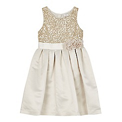 RJR.John Rocha - Girls' gold sequin dress