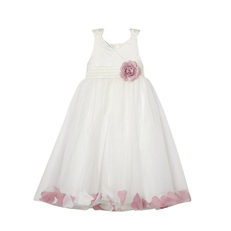 Tigerlily - Girl+s white floating petal dress