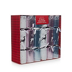Debenhams - Pack of 12 Assorted Christmas Crackers