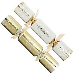 Debenhams - 12 Gold And Silver Trees Christmas Crackers