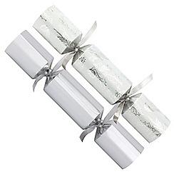 Debenhams - 12 Silver Foliage Christmas Crackers