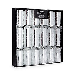 Debenhams - Set of six holly print luxury Christmas crackers