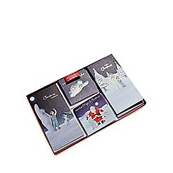 Debenhams - Set of 24 'The Snowman' and 'The Snowdog' Christmas cards