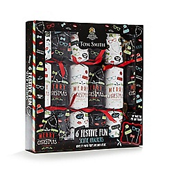 Debenhams - Set of six festive selfie Christmas crackers