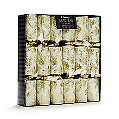 Debenhams - Set of six holly and ivy luxury Christmas crackers