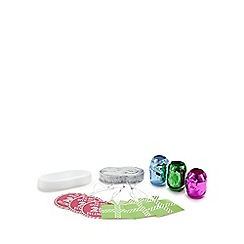 Debenhams - Assorted Christmas gift wrap accessory set
