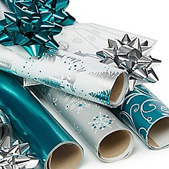 Debenhams - Christmas gift wrap multipack