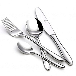 Viners - Stainless steel 24 piece 'Eden' cutlery set