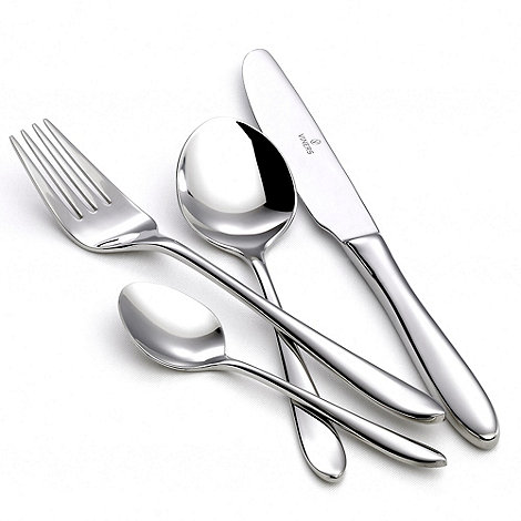 Viners - Stainless steel 24 piece +Eden+ cutlery set
