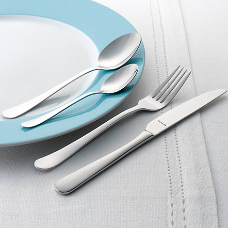 Amefa - Silver +Austin+ monogram 40-piece cutlery set
