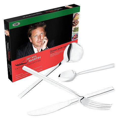 Horwood - Stellar James Martin silver 44-piece cutlery set