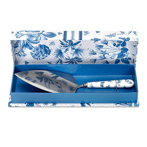 Portmeirion - Porcelain +Botanic+ blue cake slice