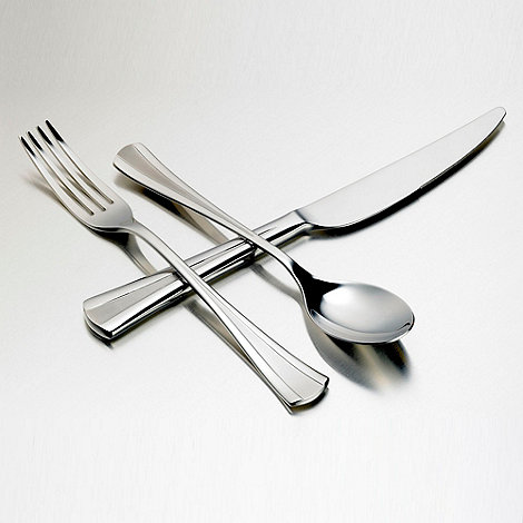 Viners - Silver twenty four piece +Ovation+ cutlery set