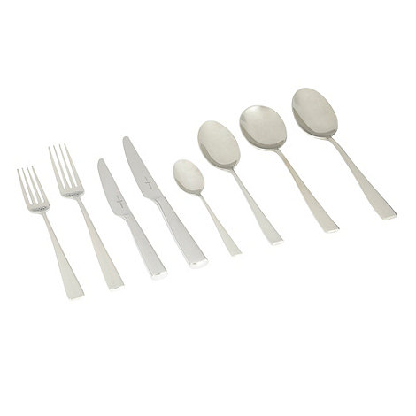 J by Jasper Conran - Stainless steel forty four piece +Halkin+ cutlery set