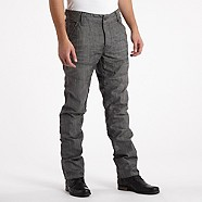 Dark blue dust tapered trousers