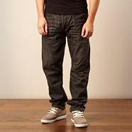 Near black 'Utility' loose fit jeans