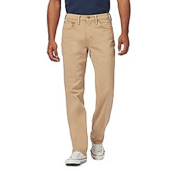 Levi's - 514 beige twill jeans
