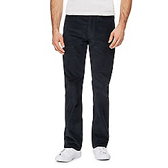 Levi's - Big and tall black '514' straight leg corduroy trousers