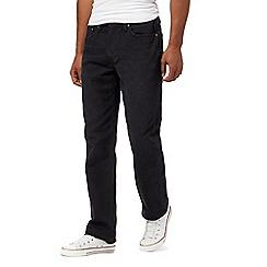 Levi's - Black '514' twill jeans