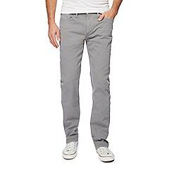 Levi's - Grey 514 straight leg jeans