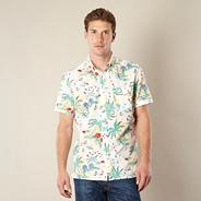 Levi's® white hawaiian shirt