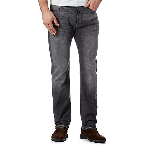 Levi+s - 501® moody monday blue straight leg jeans