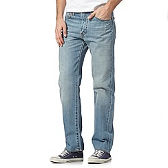 Levi's - 751&#8482 light blue stonebleach straight leg jeans