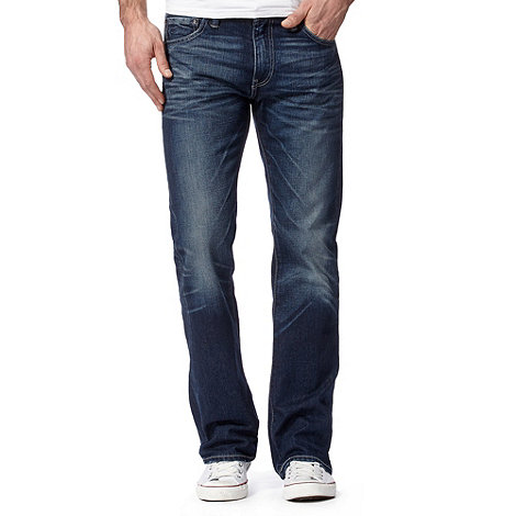 Levi+s - 527&#8482 full moon blue bootcut jeans